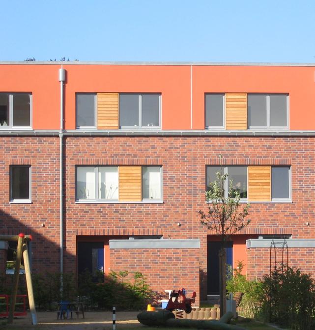 Stadthäuser Homannstrasse