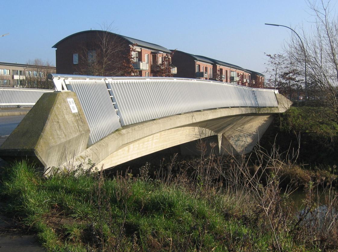 4 Brücken in Neu-Allermöhe West